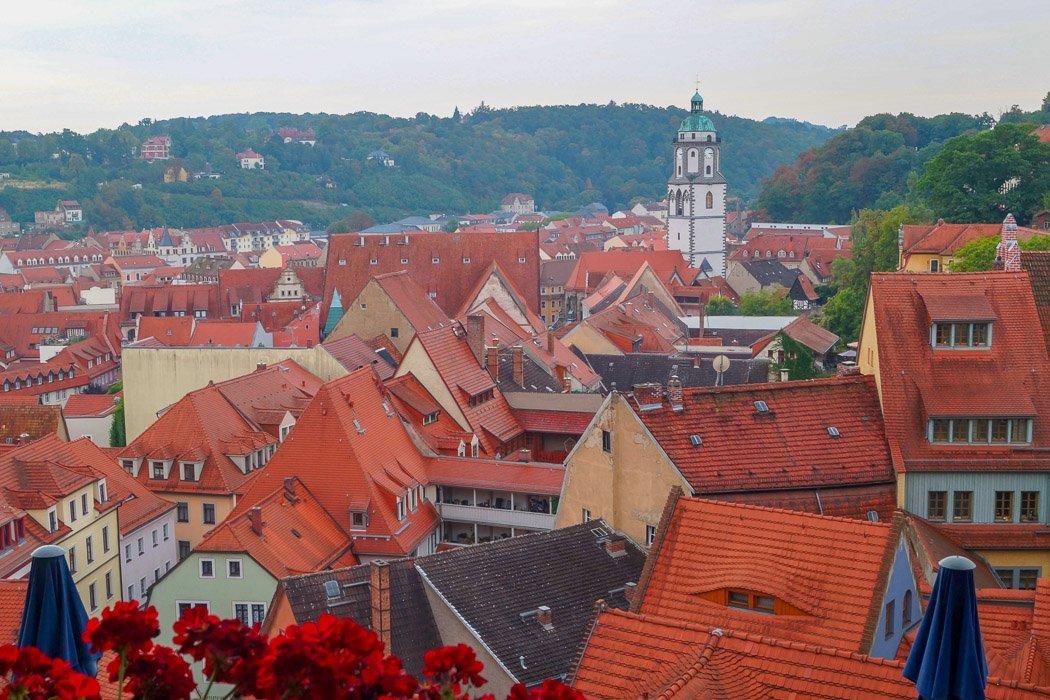 Albrechtsburg Ausblick