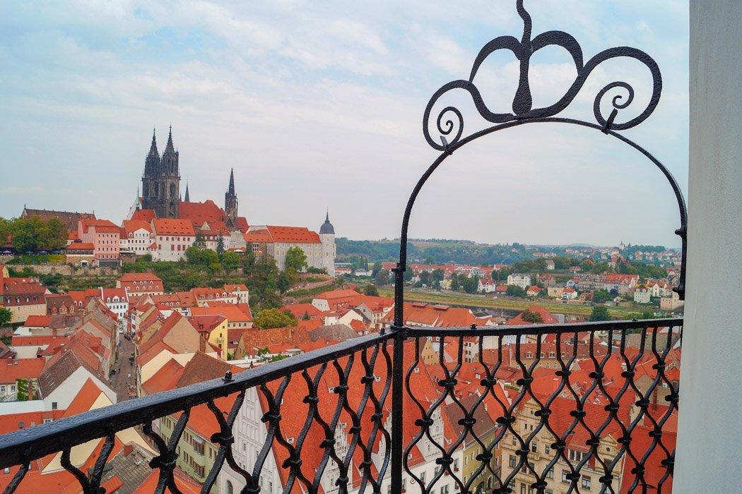 Frauenkirche Meißen Ausblick