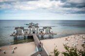 Seliger Seebrücke, Strand und Meer