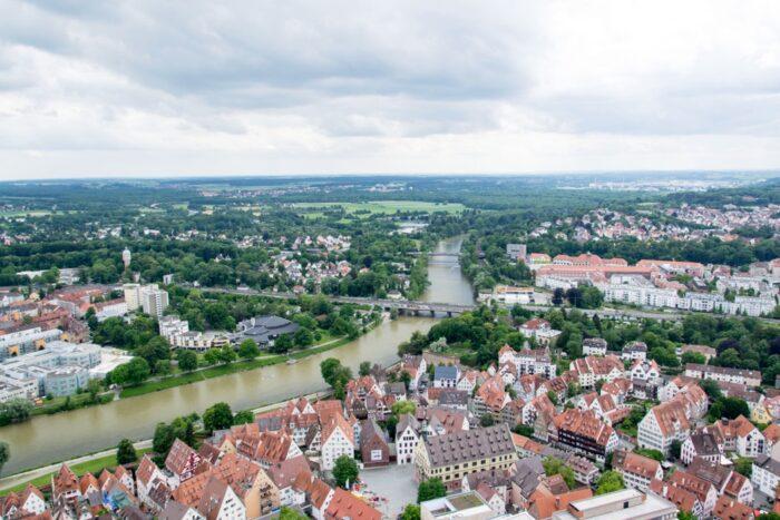 Ulmer Münster Aussicht