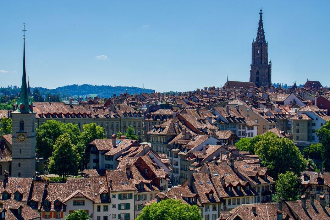 Blick über die Berner Altstadt