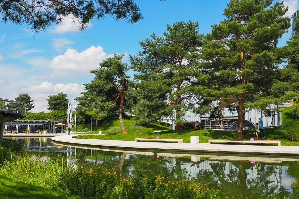Autostadt Parklandschaft