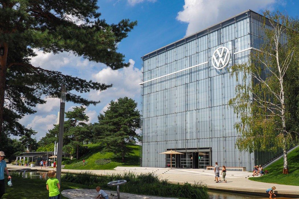 Autostadt Volkswagenpavillion