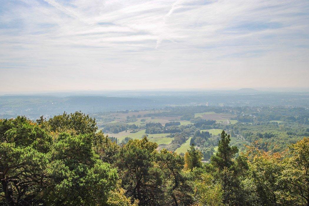 Aussicht vom Litermont Gipfel
