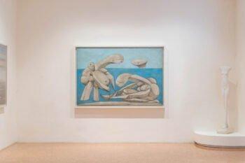 Picasso Gemälde in leerem Raum