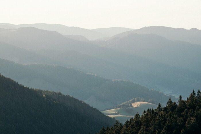 Belchen Schwarzwald Aussicht