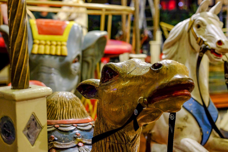 Holzkarussell Weihnachtsmarkt Singen
