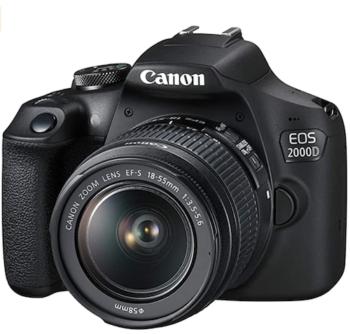 Canon EOS 2000D Spiegelreflexkamera