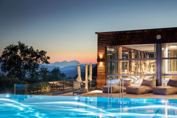 Pool Hotel Bergkristall