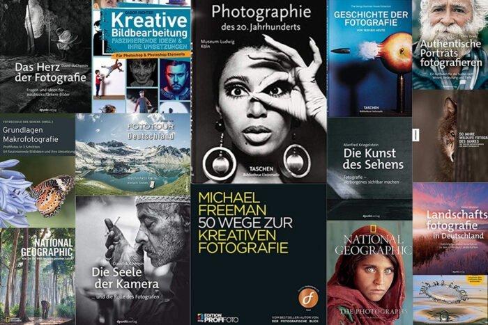 Die 22 besten Fotografie-Bücher, die Freude bringen