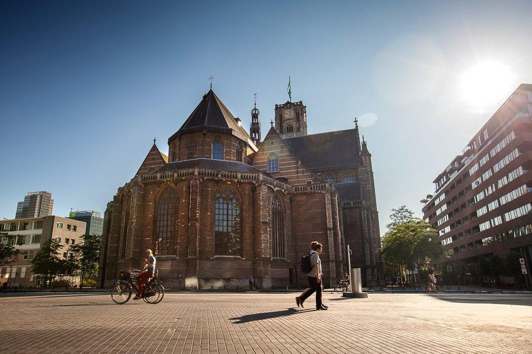 Die Laurenskerk in Rotterdam