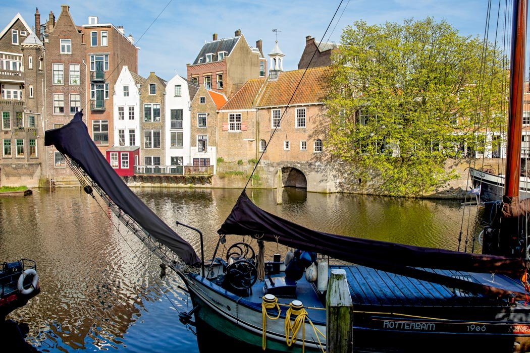Historisches Viertel Delfshaven in Rotterdam