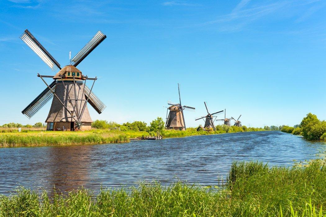 Die WIndmühlen in Kinderdijk