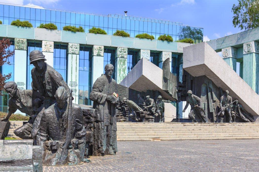 Denkmal zum Warschauer Aufstand 1944