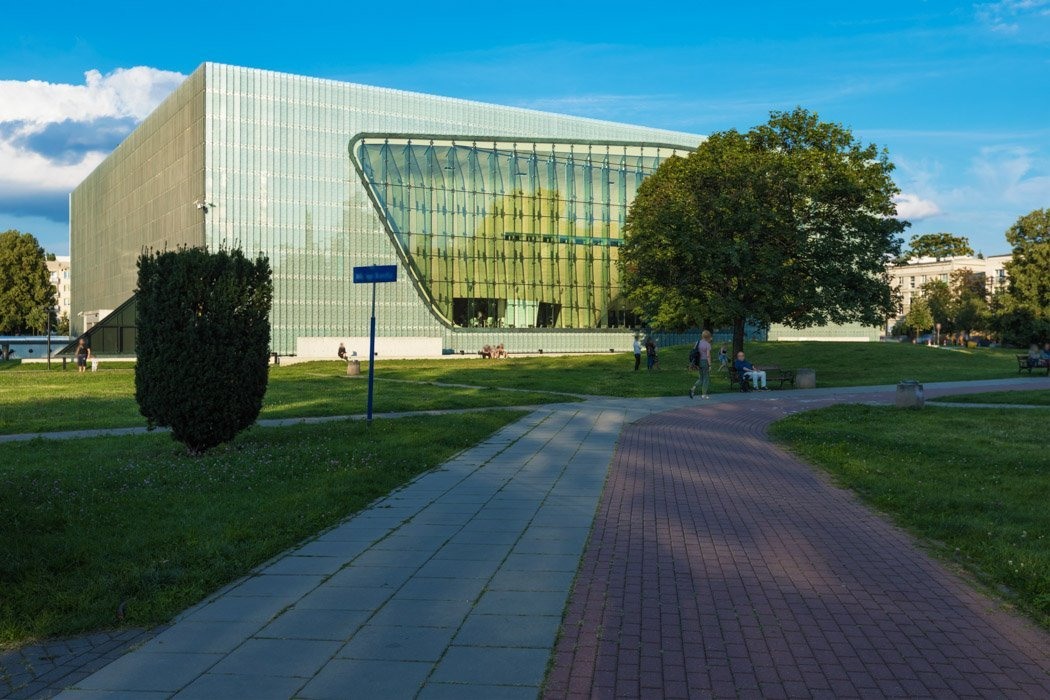 POLIN Museum von Außen