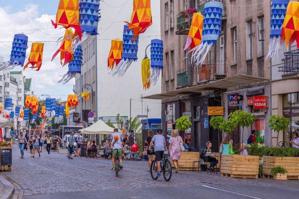 Wildes Treiben in Praga, Warschau