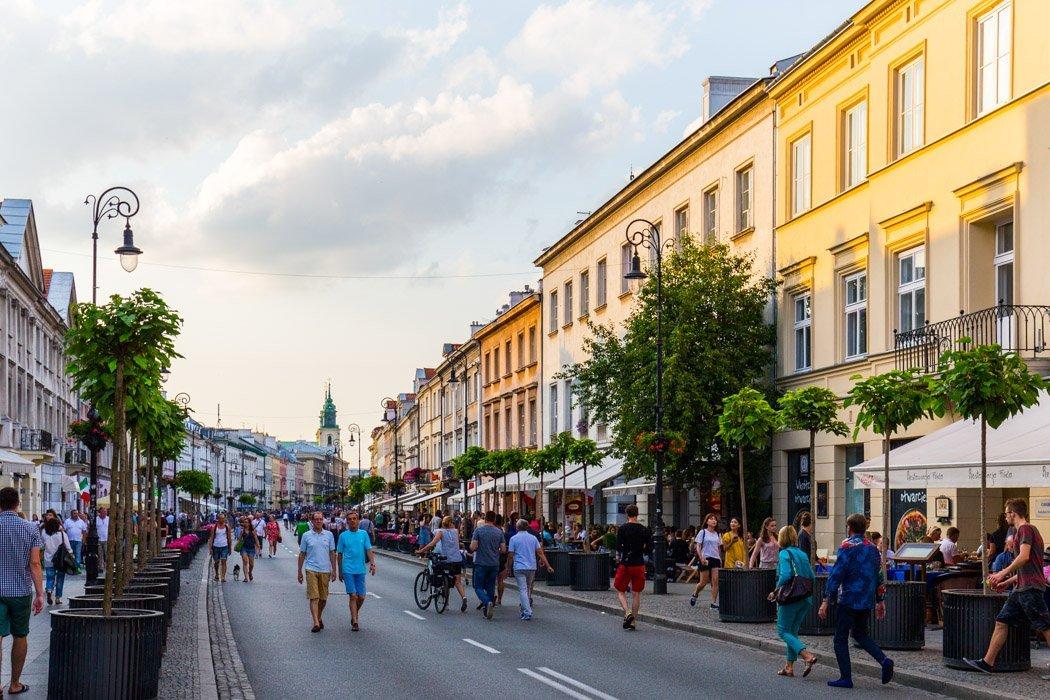 Nowy Swiat in Warschau