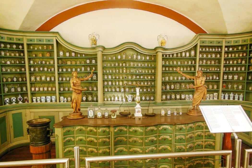 Das Apothekenmuseum in Heidelberg von innen