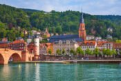 Die Heidelberger Altstadt
