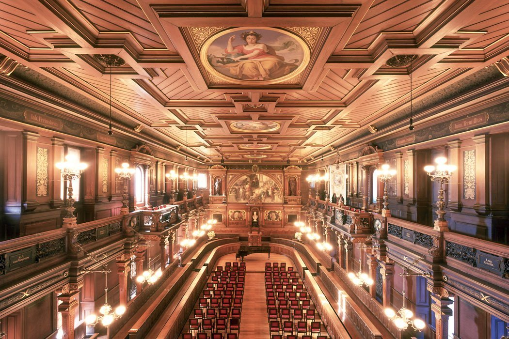 Die Aula in der Alten Universität Heidelberg