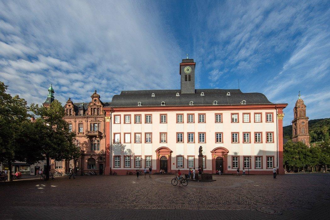 Der Universitätsplatz in Heidelberg