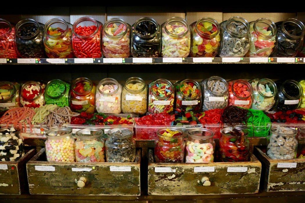 Leckereien im Zuckerladen, Heidelberg