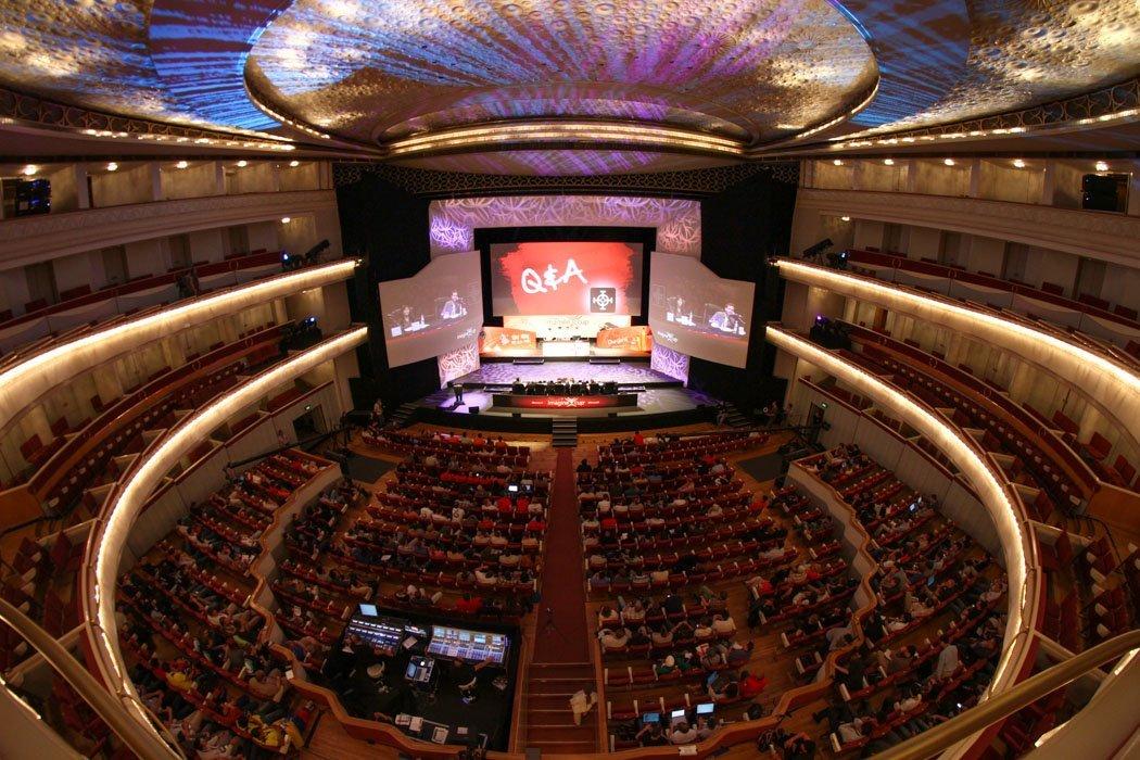 Das Warschauer Teatr Wielki von innen