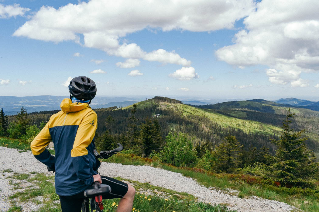 Radtour auf den Großen Arber im Bayerischen Wald