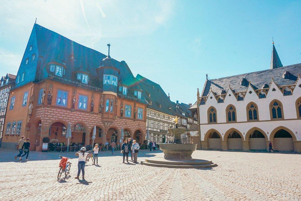 Platz in Goslar im Harz