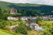 Flussfahrt auf dem Neckar