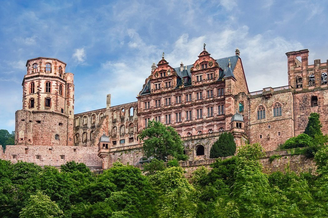 Ruine des Heidelberger Schlosses