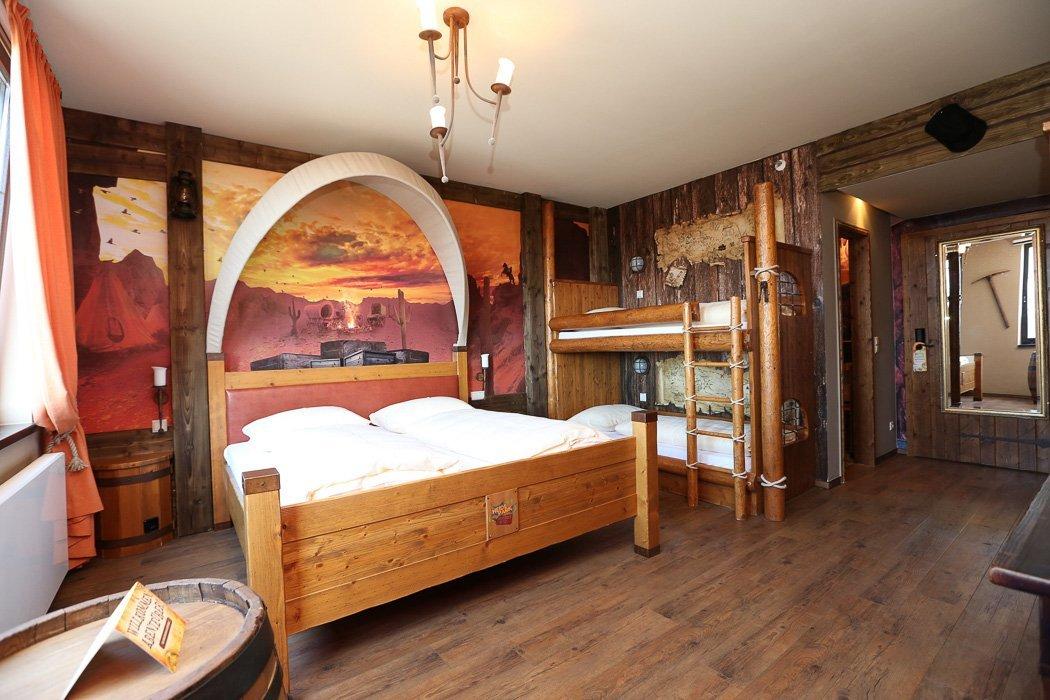 Western Zimmer im Heide Park Resort