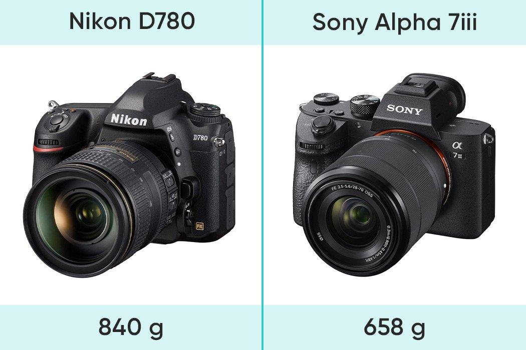 Gewicht Vergleich