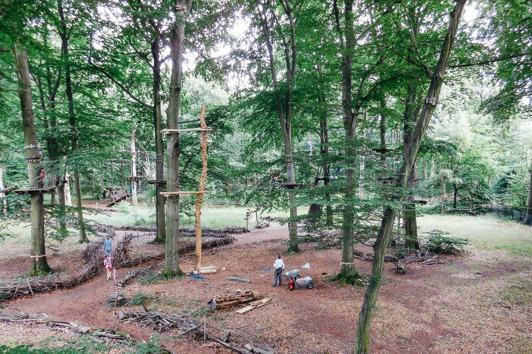Waldhochseilgarten Jungfernheide
