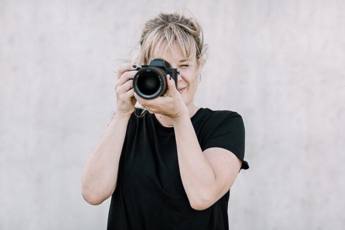 Jenny fotografiert