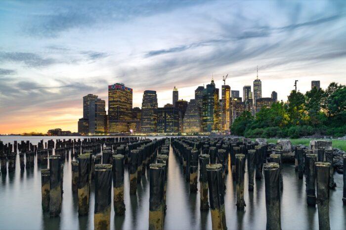 New York Skyline Manhatten