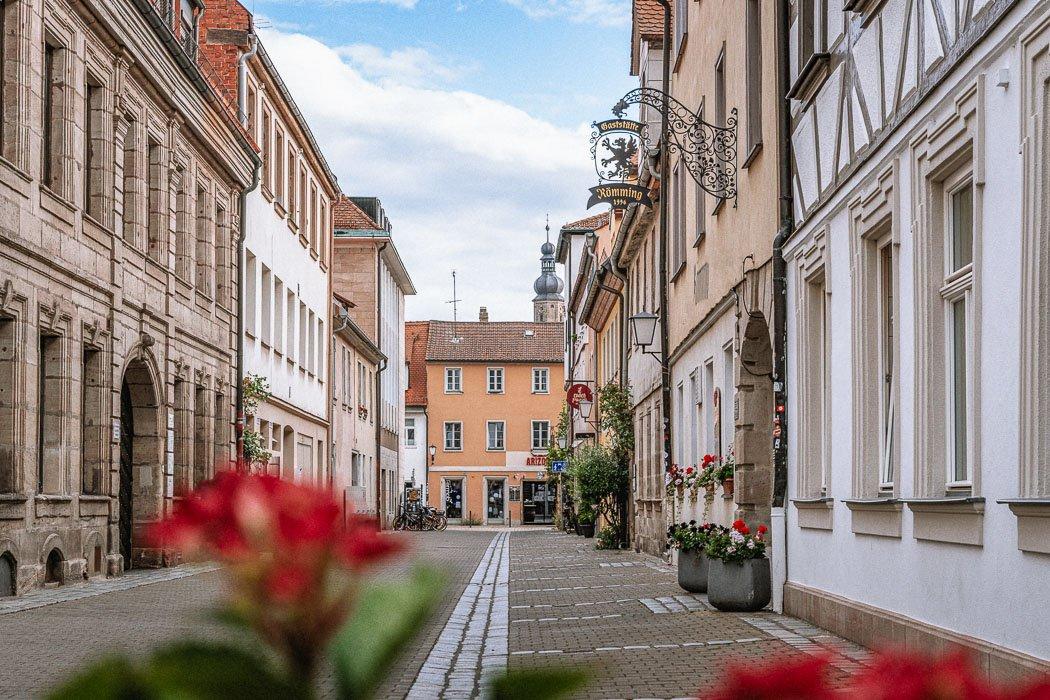 Apfelstraße in Erlangen