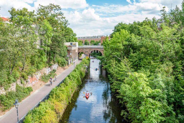 Karl-Heine-Kanal in Leipzig