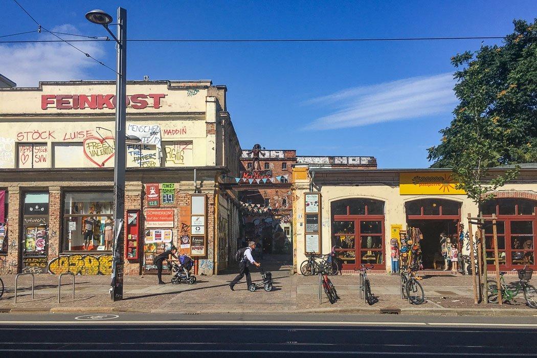 Karl-Liebknecht-Straße in Leipzig