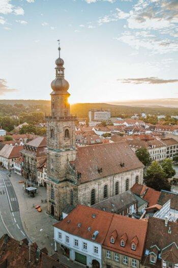 Martin-Luther-Platz und Altstädter Kirche Erlangen