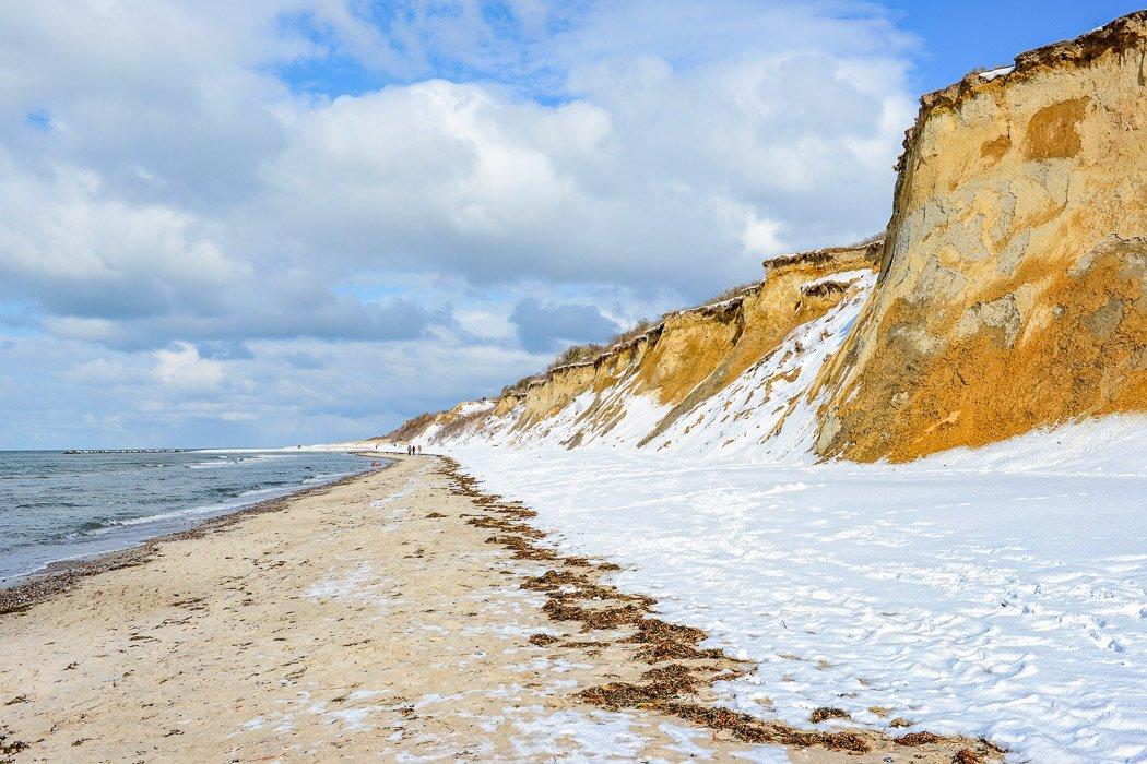 Küste auf Darß an der Ostsee