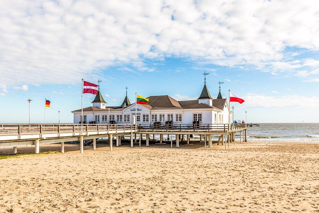 Strand auf Usedom an der Ostsee