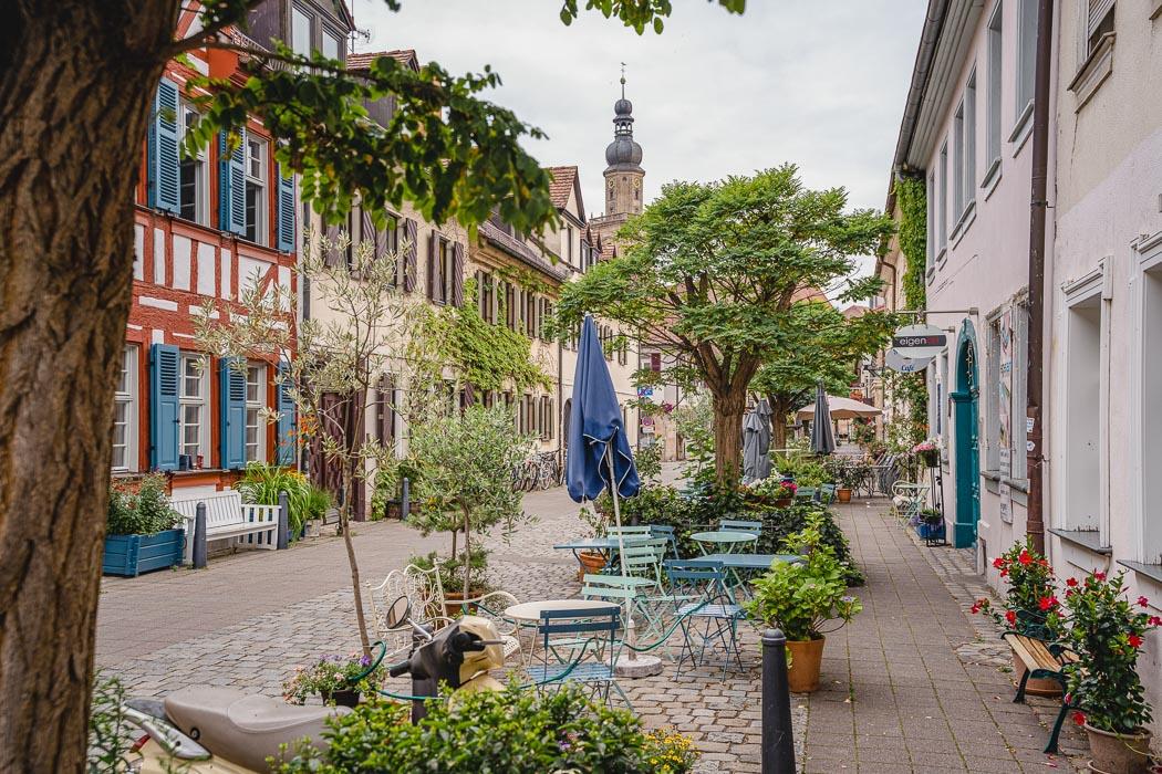 Schiffstraße in Erlangen