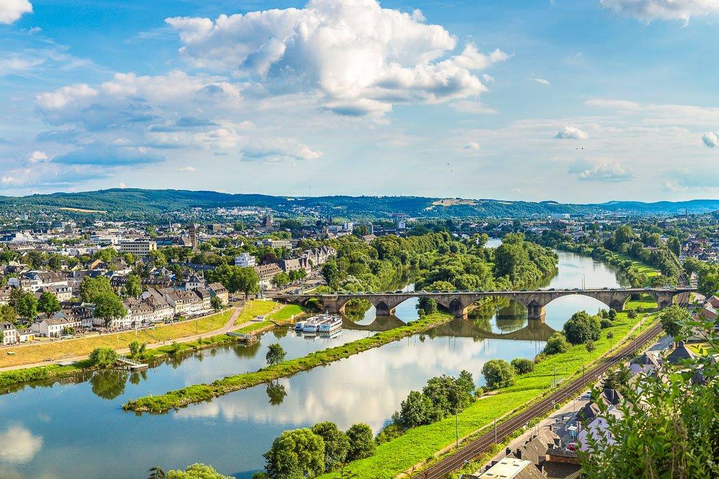 Panorama Blick auf Trier