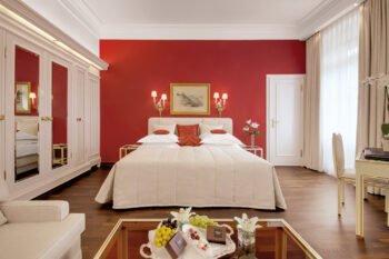 Doppelzimmer Komfort im Hotel Europäischer Hof Heidelberg