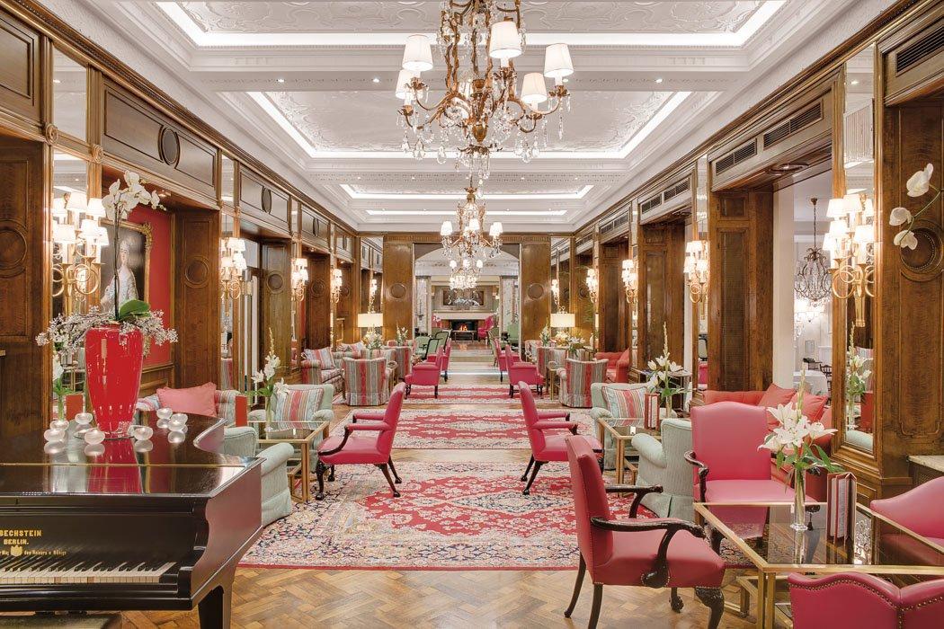 Hotelhalle im Hotel Europäischer Hof Heidelberg