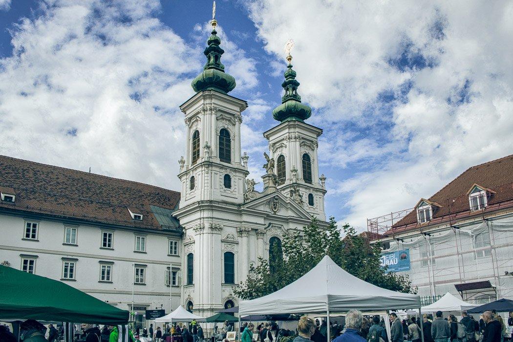 Mariahilfplatz in Graz