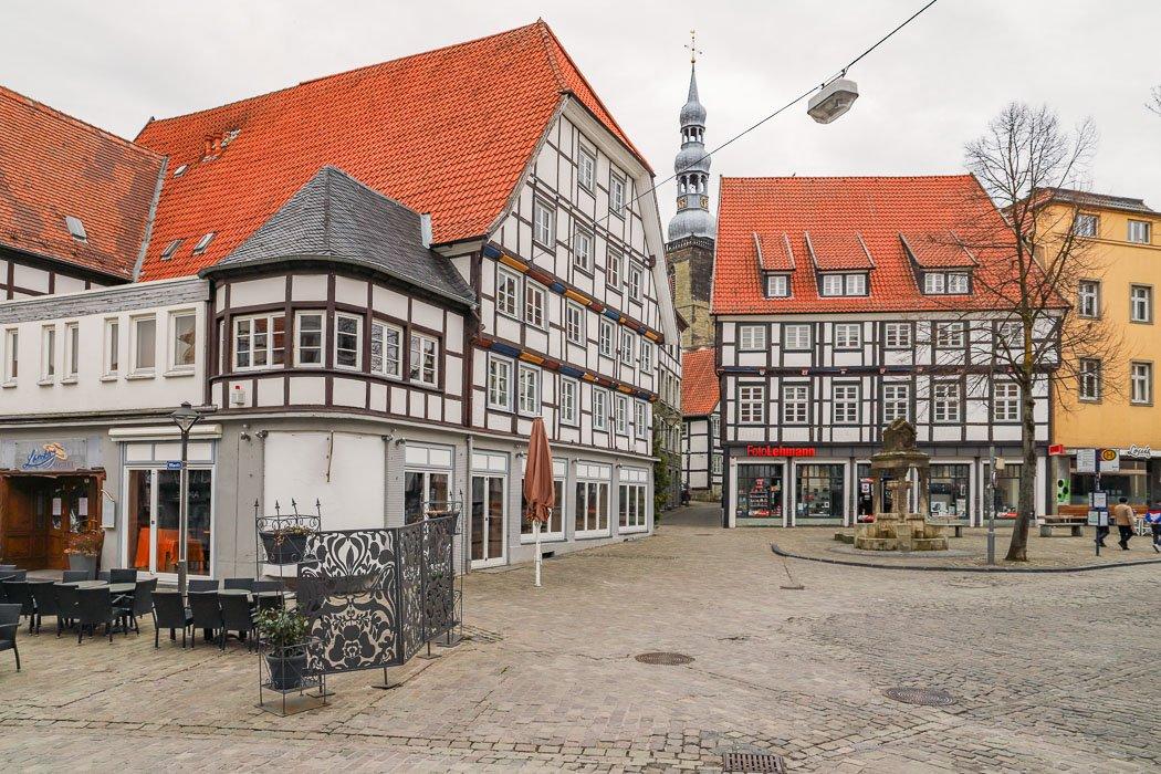 Soester Altstadt mit Fachwerkhäusern