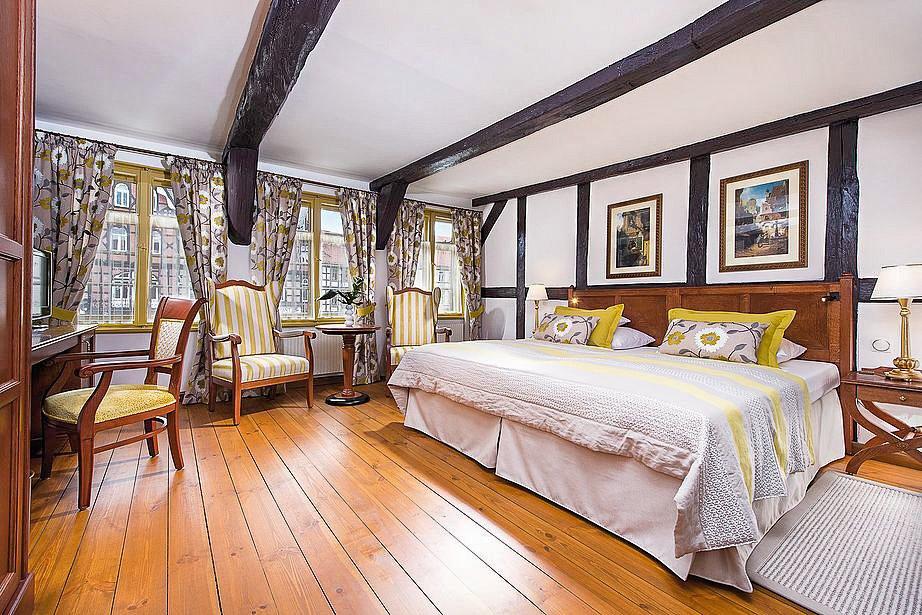 Hotel Gothisches Haus Zimmer
