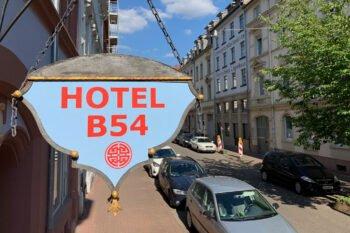 Hotel B54 Eingang
